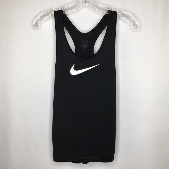 Nike Tops - Nike Pro Dri Fit Black Racerback Tank Top